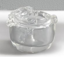 A DIMINUTIVE ROCK CRYSTAL 'CHILONG' WASHER<BR> QING DYNASTY, 18TH / 19TH CENTURY |