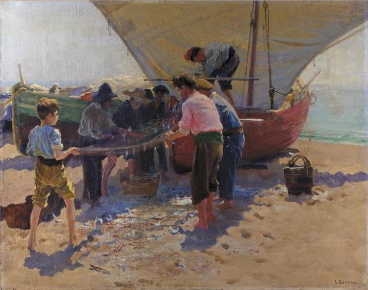 LAUREANO BARRAU BARCELONA 1863-1957