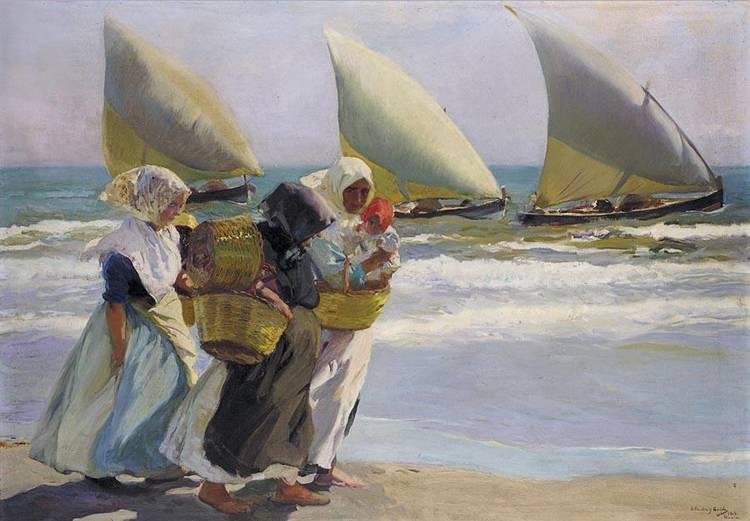 JOAQUÍN SOROLLA VALENCIA 1863-MADRID 1923