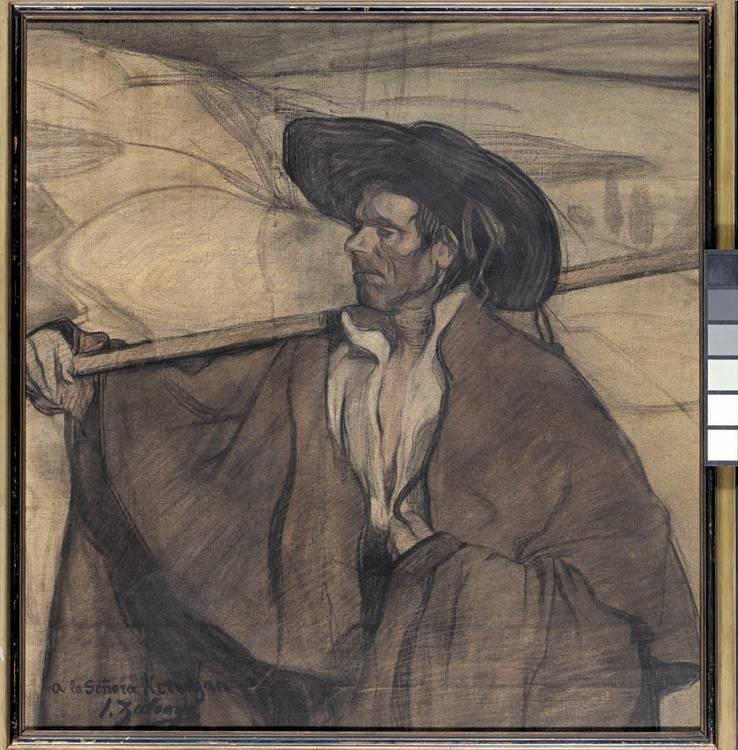 f - IGNACIO ZULOAGA EIBAR 1870-MADRID 1945