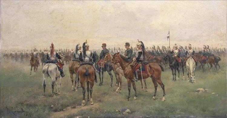 JOSÉ CUSACHS MONTPELLIER 1851- BARCELONA 1908