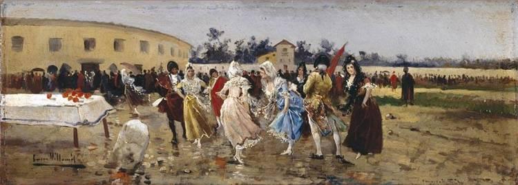 EUGENIO LUCAS VILLAMIL MADRID 1858-1918