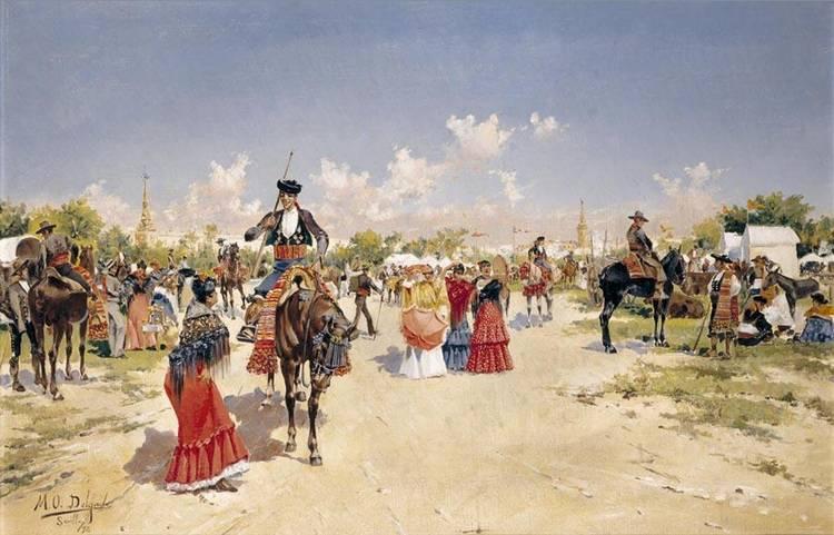 MARIANO OBIOLS DELGADO BARCELONA, B. 1860