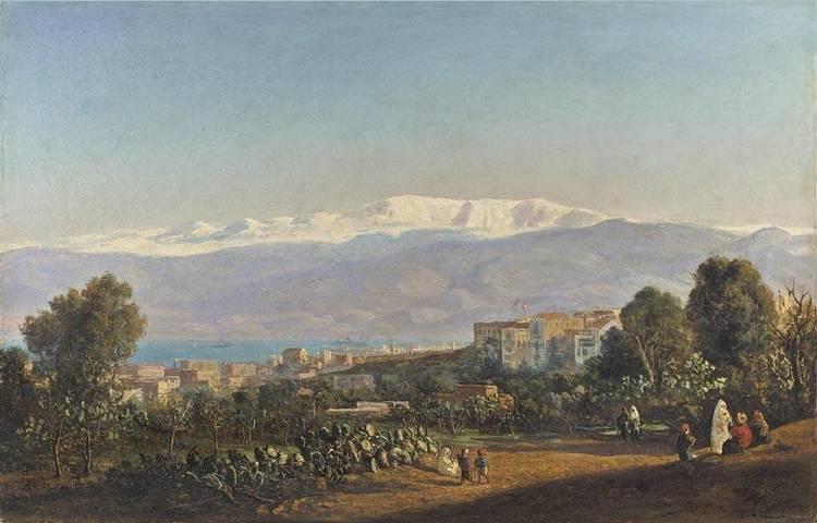 LOUIS LOTTIER FRENCH, 1815-1892