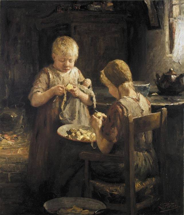 EVERT PIETERS DUTCH, 1856-1932