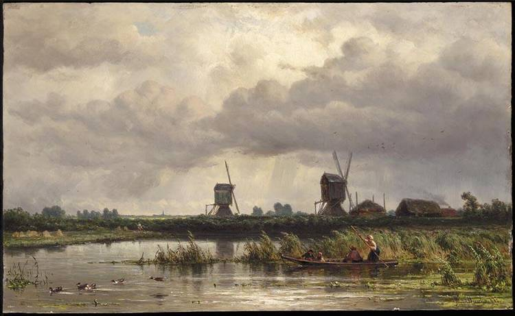 JAN WILLEM VAN BORSELEN DUTCH, 1825-1892