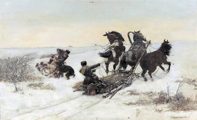 f - BOHDAN VON KLECZYNSKI POLISH, 1851-1916