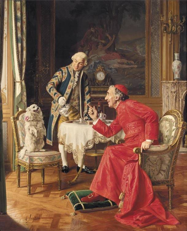 ANDREA LANDINI ITALIAN, B. 1847