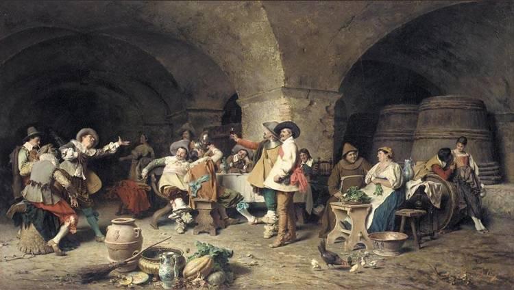 TITO CONTI ITALIAN, 1842-1924