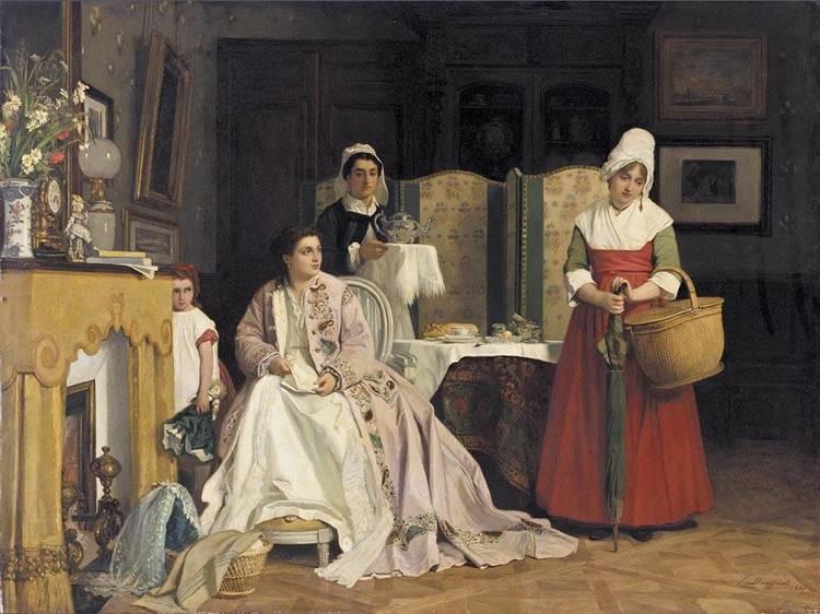 CHARLES BAUGNIET BELGIAN, 1814-1886