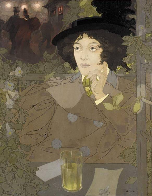 GEORGES DE FEURE FRENCH, 1868-1943