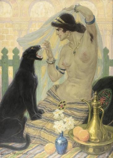 LUDOVIC ALLEAUME, 1859 - 1941