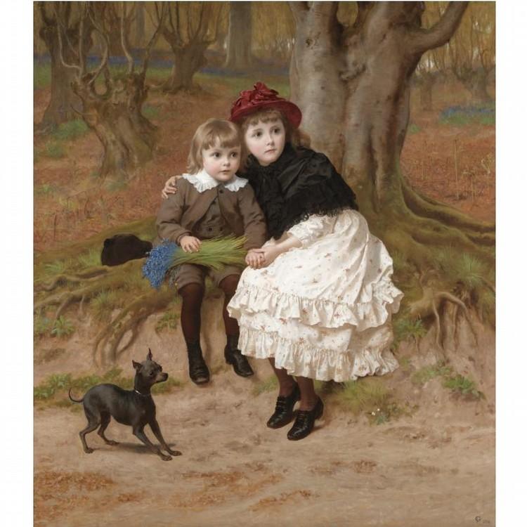 FREDERICK GOODALL, R.A. 1822-1904