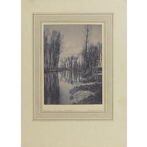 Frederick Henry Evans 1853-1943 , 'crepuscule au printemps'