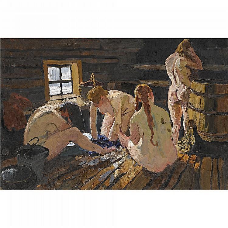 любовные сцены в деревенской бане в россии рос
