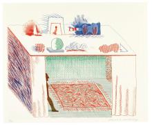 DAVID HOCKNEY, R.A. | In a Chiaroscuro (Scottish Arts Council 207; Museum of Contemporary Art Tokyo 186)