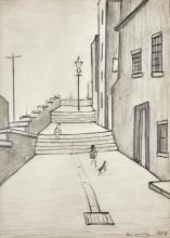 LAURENCE STEPHEN LOWRY, R.A. | The Steps