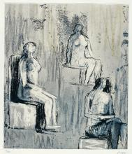 HENRY MOORE, O.M., C.H. | Three Seated Figures (C. 620)