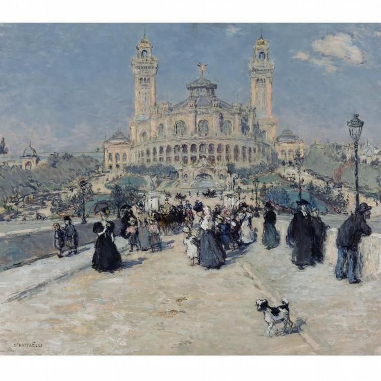 JEAN FRANÇOIS RAFFAELLI 1850-1924 LE TROCADÉRO