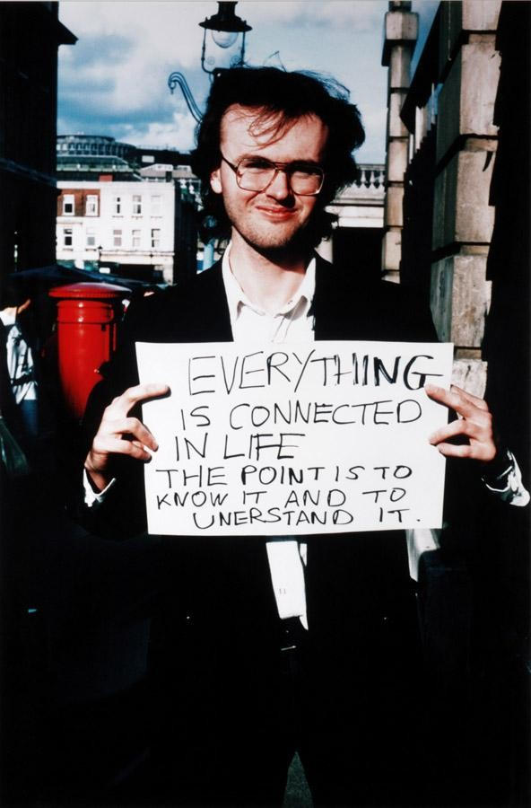 GILLIAN WEARING, B. 1963 SIGNS THAT SAY WHAT YOU WANT THEM TO SAY AND NOT SIGNS THAT SAY WHAT