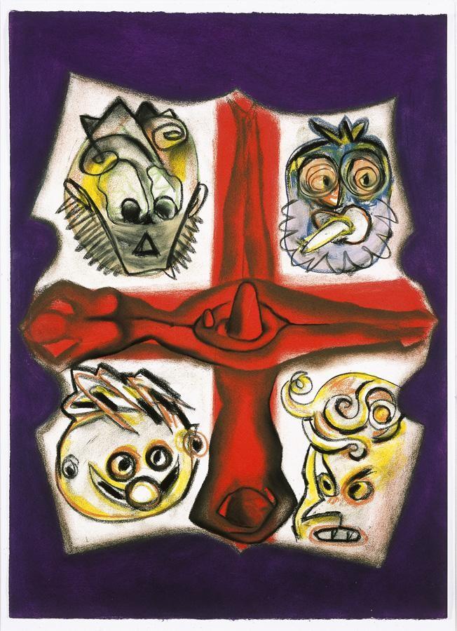 FRANCESCO CLEMENTE, B. 1952 GUARDIANS OF TRUTH