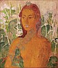 Theo Meier , 1908-1982 Nude oil on canvas   ,  Theomeier, Click for value