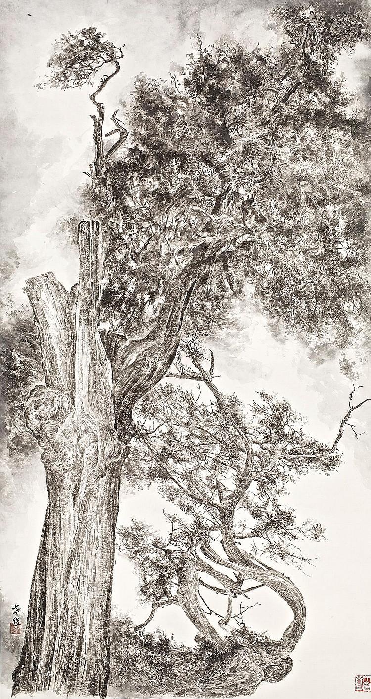 ZENG XIAOJUN | Tree Study No.1 for Qing Qi Gu Guai