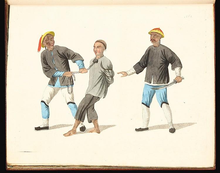 HEMPEL, FRIEDRICH. DIE STRAFEN CHINESEN. [C.1804]