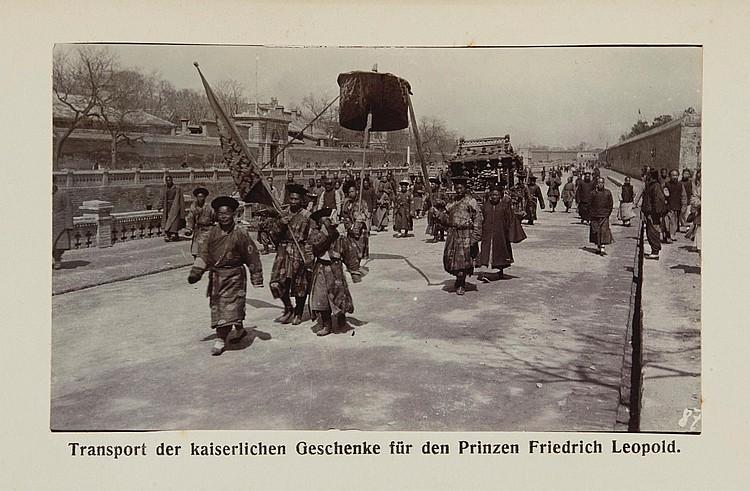KOBERSTEIN, F. TIENTSIN UND UMBEGUNG; BOY-ED. PEKING UND UMGEBUNG. 1906