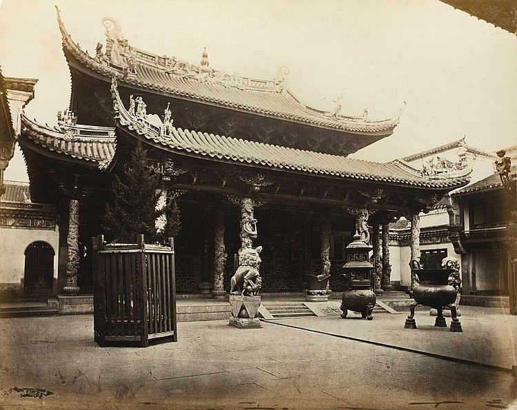 WATSON. ALBUM OF PHOTOGRAPHS OF CHINA [C.1867-1870]