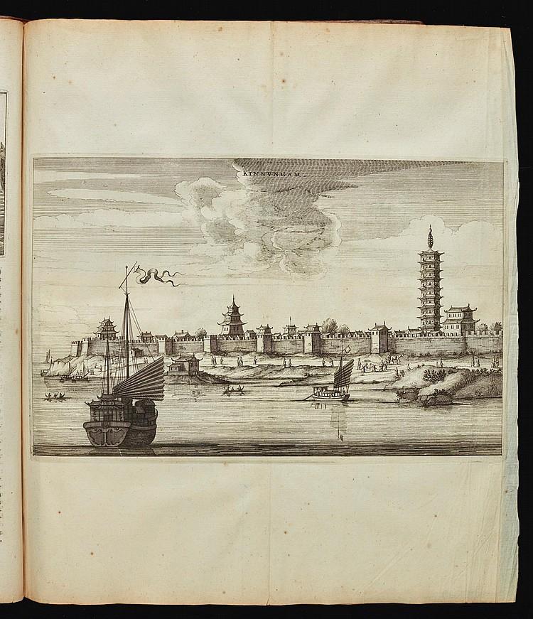NIEUHOFF, JAN. L'AMBASSADE DE LA COMPAGNIE ORIENTALE DES PROVINCES UNIES VERS L'EMPEREUR DE LA CHINE. 1665