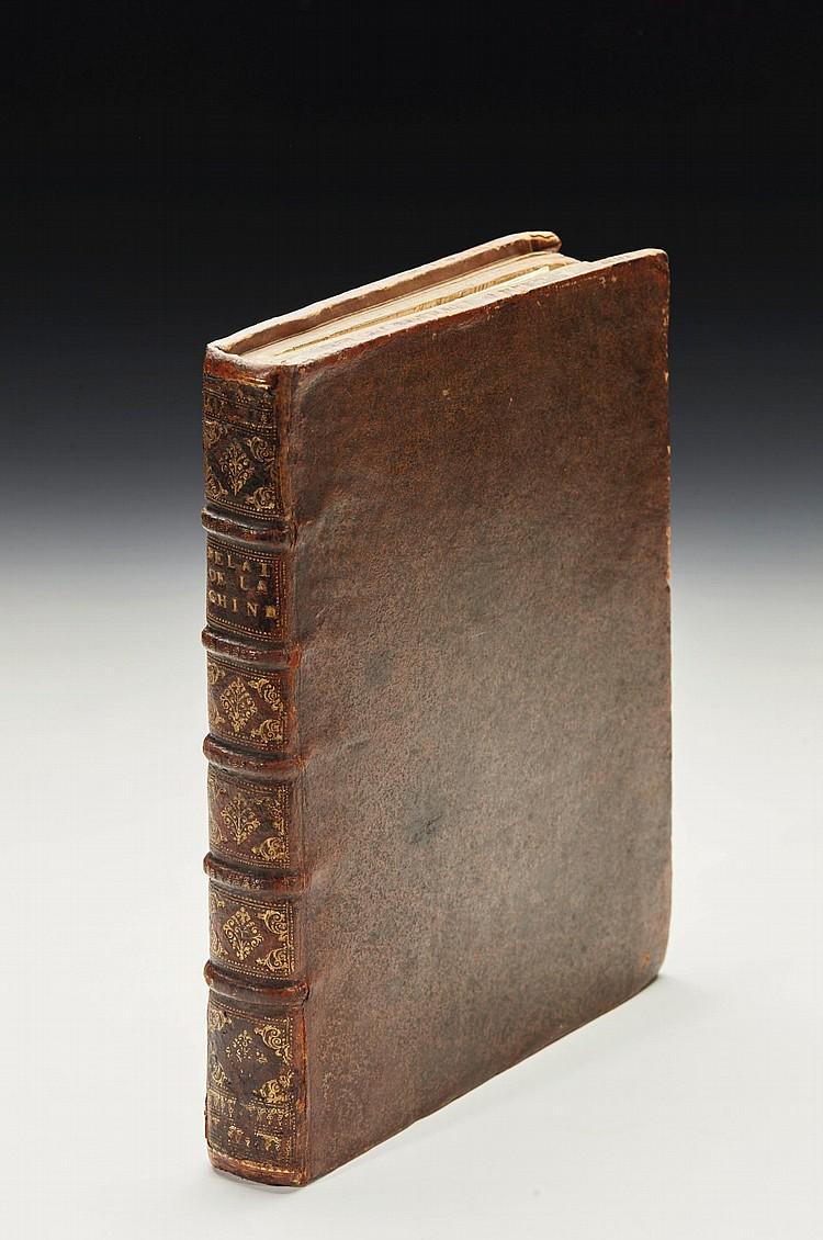 MAGALHAES, GABRIEL DE. NOUVELLE RELATION DE LA CHINE. 1688