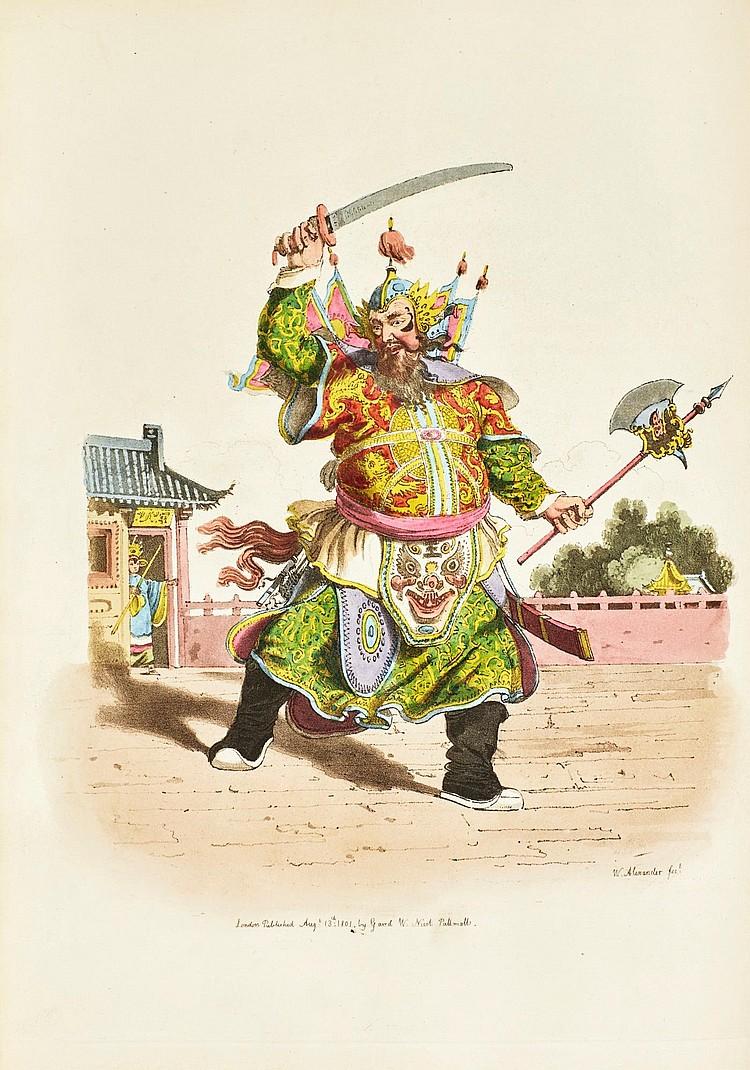 ALEXANDER, WILLIAM. THE COSTUME OF CHINA, 1805