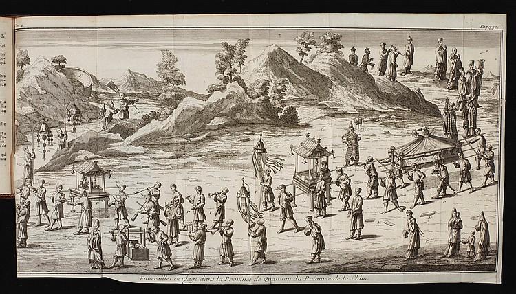 GEMELLI-CARERI, GIOVANNI FRANCESCO. VOYAGE DU TOUR DU MONDE. 1719