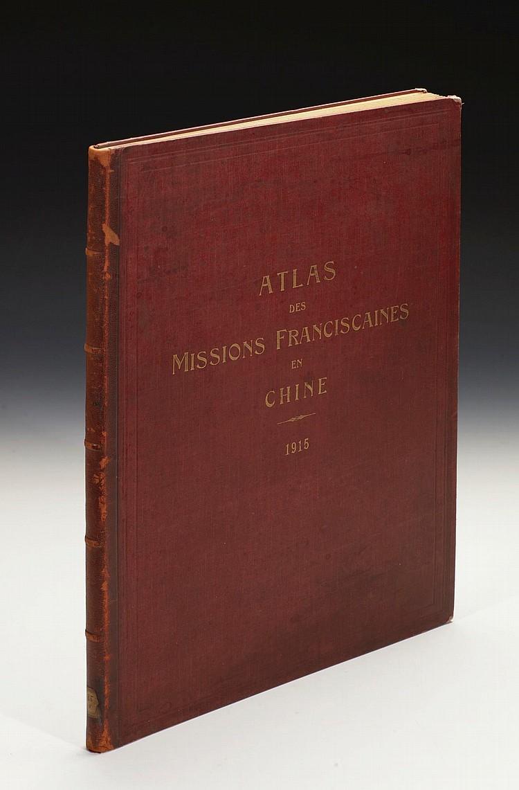 HAUSERMAN, R. ATLAS DES MISSIONS FRANCISCAINES EN CHINE. 1915
