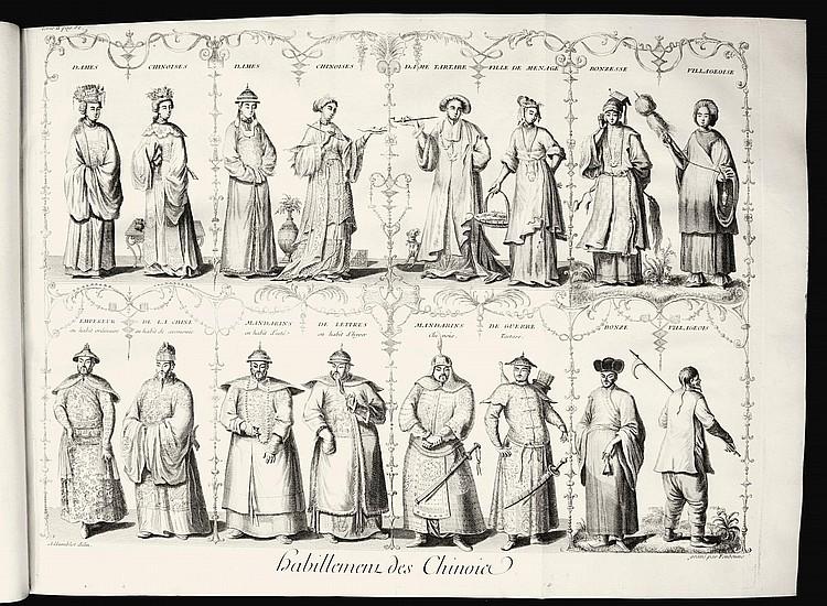 DU HALDE, J.B. DE. DESCRIPTION GEOGRAPHIQUE, HISTORIQUE ... DE L'EMPIRE DE CHINE. 1735