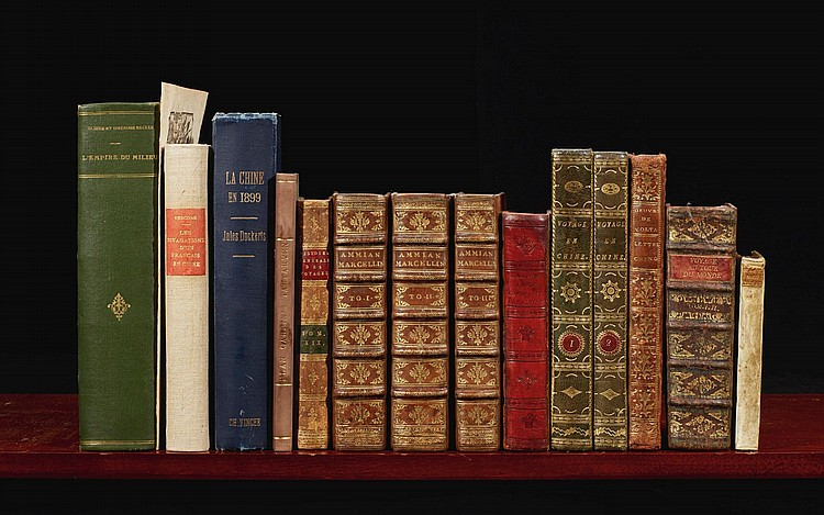 CHINA: 15 VOLUMES IN FRENCH