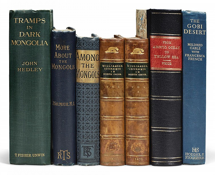 MONGOLIA. A COLLECTION OF 7 VOLUMES