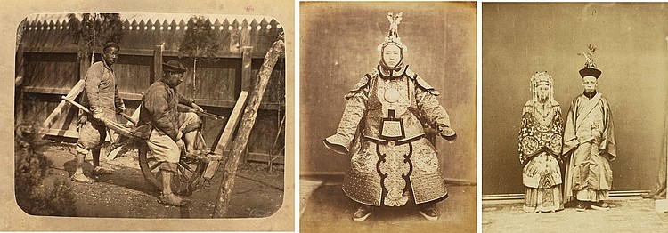 CHINA. ALBUM OF PHOTOGRAPHS. C.1860-1875