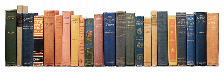 CHINA: A COLLECTION OF 46 TRAVEL BOOKS