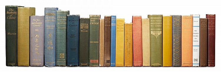 CHINA: A COLLECTION OF 43 TRAVEL BOOKS