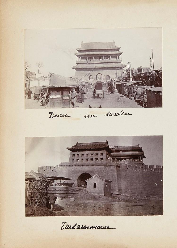CHINA - MONTGELAS, P.G.BOOK, ALBUM AND LOOSE PHOTOGRAPHS