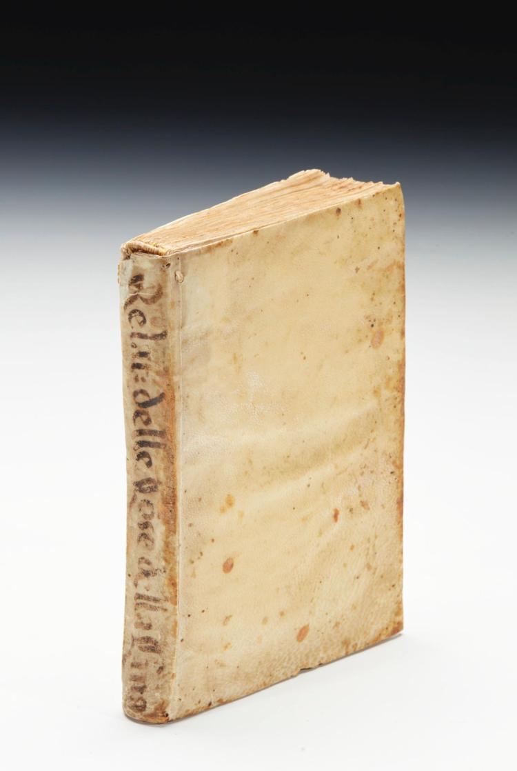 JESUIT LETTERS. RELATIONE DELLE COSE PIU NOTABILI SCRITTE NE GLI ANNI 1619. 1620. & 1621 DALLA CINA. 1624