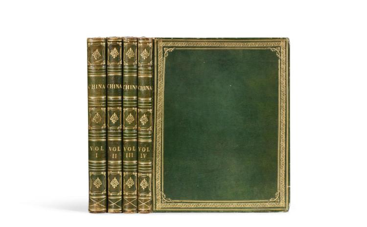 WRIGHT, GEORGE N. CHINA IN A SERIES OF VIEWS. 1843