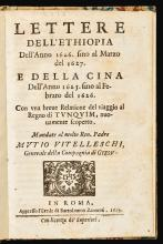 ALMEYDA, EMMANUEL DE. LETTERE DELL' ETHIOPIA DELL' ANNO 1626. 1629