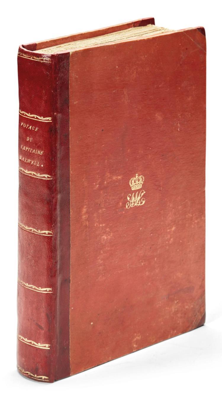 M'LEOD, JOHN. VOYAGE DU CAPITAINE MAXWELL. 1818