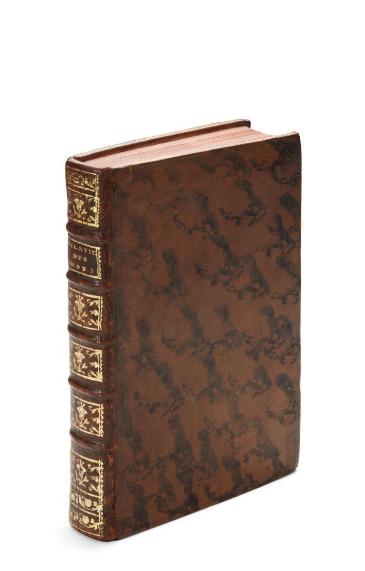 RENAUDOT, EUSÈBE. ANCIENNES RELATIONS DES INDES ET DE LA CHINE, PAR DEUX VOYAGEURS MAHOMETANS. 1718