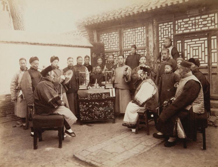 PHOTOGRAPHS. YAMAMOTO. 6 PHOTOGRAPHS. [C.1890S]