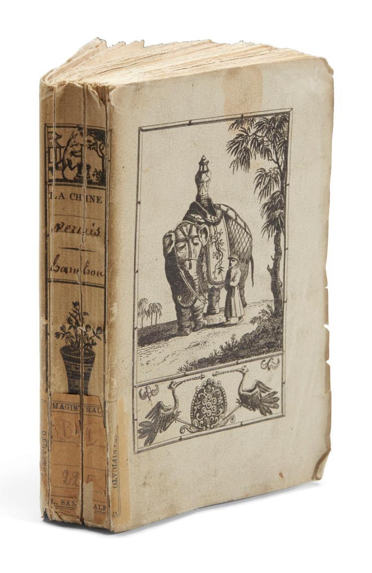 INCARVILLE, PIERRE LE CHÉRON. ARTS, MÉTIERS ET CULTURES DE LA CHINE. PARIS, 1814-1815