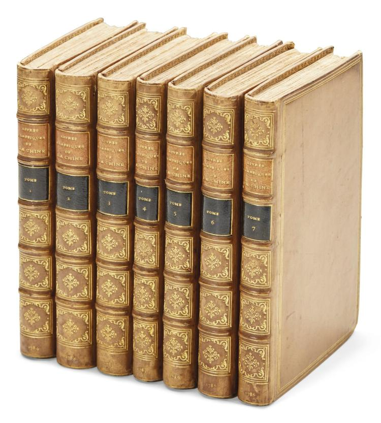 NOEL, FRANÇOIS. LES LIVRES CLASSIQUES DE L'EMPIRE DE LA CHINE. 1784-1786